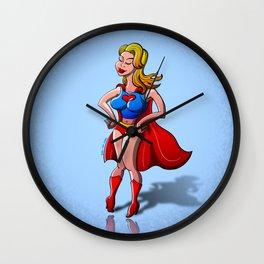 Heroine of Love Wall Clock
