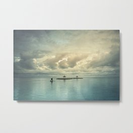 the art of silence Metal Print