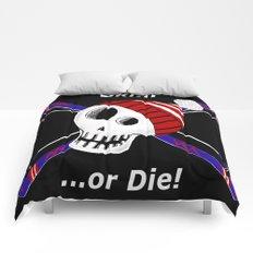 Ski or Die! Comforters