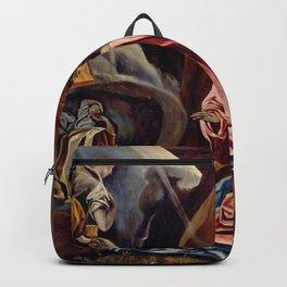 """El Greco (Domenikos Theotokopoulos) """"Agony in the Garden"""" Backpack"""