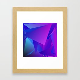 Rhapsody in Blue 3 Framed Art Print