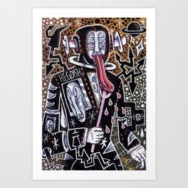 Churchill Remix Art Print