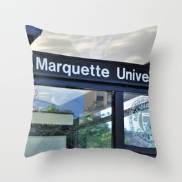 Marquette Throw Pillow