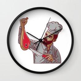 DONER KEBAB BAE slices DONER restaurant Wall Clock