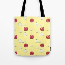 Toffee Apples Pattern Tote Bag