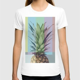 Pineapple_tvcolorbar_effect T-shirt