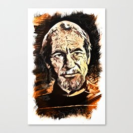 Admiral Picard abstract fan art Canvas Print