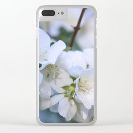 Hawthorne Flowers After Rain Clear iPhone Case