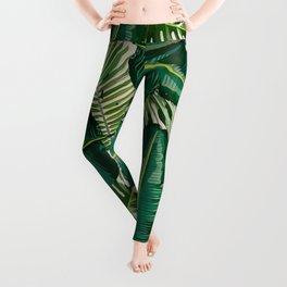 Tropical Greenies Leggings