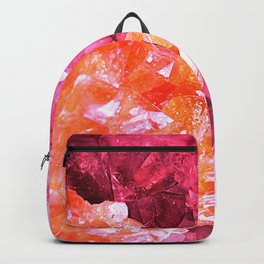 Crystal Abstract Backpack