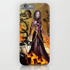Awesome dark fairy Slim Case iPhone 6s