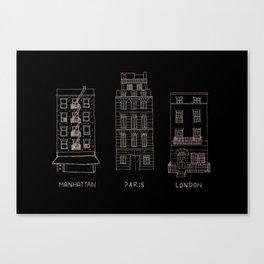 LDN/NYC/PRS Canvas Print
