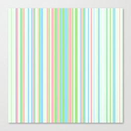 Stripe obsession color mode #2 Canvas Print