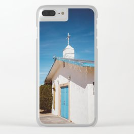 Desert Church II Clear iPhone Case