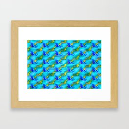 Jolly jumpers pattern Framed Art Print