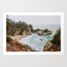 big sur iii / california Art Print