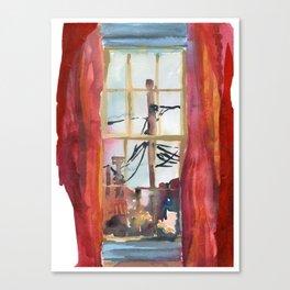 Corner of James Street Canvas Print