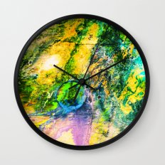 My Sister lives On The Large Green Planet Wall Clock