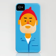 Steve Zissou iPhone (4, 4s) Slim Case