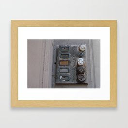 Poverty Framed Art Print
