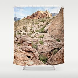 Red Rock Canyon, Nevada Shower Curtain