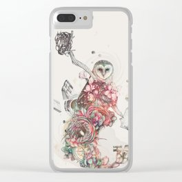 Source of All Knowledge Clear iPhone Case