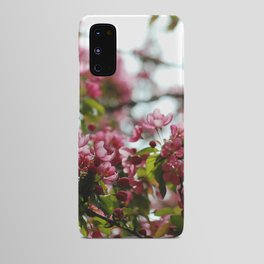 Pink Blossoms #01 Android Case