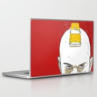 taxi driver Laptop & iPad Skins featuring Taxi Driver by Matthew Bartlett