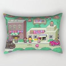 Earthbound town Rectangular Pillow