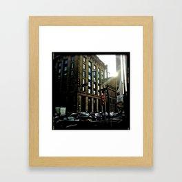 Glasgow:Philadelphia  Framed Art Print
