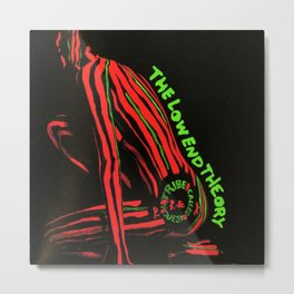 The Low End Theory - Hip Hop - A Tribe Called Quest - Society6 - BLM - Classic Hip Hop - Old School Metal Print
