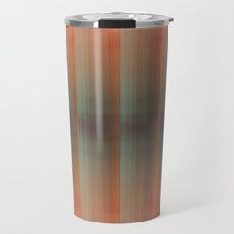 Abstract pattern pink and grey Travel Mug