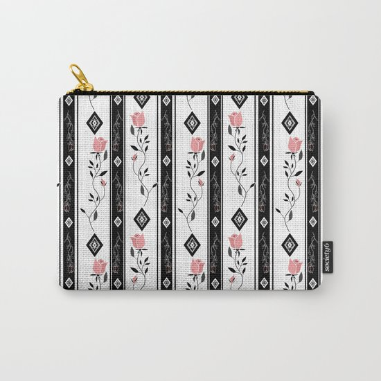 Retro pattern. Roses. Carry-All Pouch