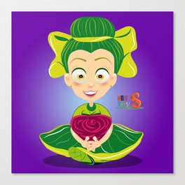 Mariette/Character & Art Toy design for fun Canvas Print