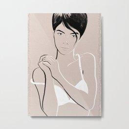 La Femme 04 Metal Print