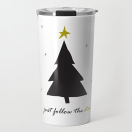 Just Follow The Star Travel Mug