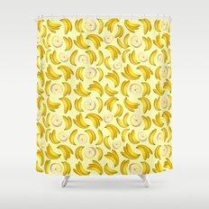 Banana Fruity Pattern  Shower Curtain