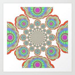 Caleidoscopio 3 Art Print