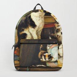 Henriette Ronner-Knip - World Traveler - Digital Remastered Edition Backpack