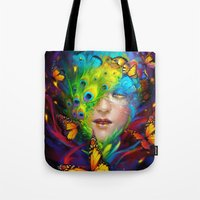 alchemy Tote Bags featuring Alchemy by Lena Richards
