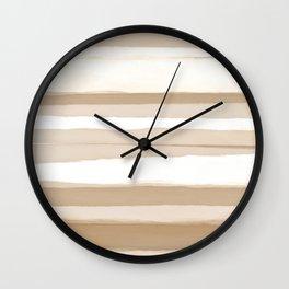 Strips 2 Wall Clock