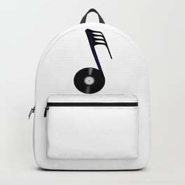 Isolated Record Note Backpack
