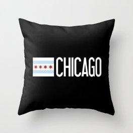 Chicago: Chicagoan Flag & Chicago Throw Pillow