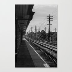 Valley Stream Station Canvas Print
