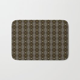 Meshed in Bronze Bath Mat