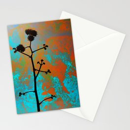 Agave Bloom Stationery Cards