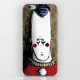 Wall Clown iPhone Skin