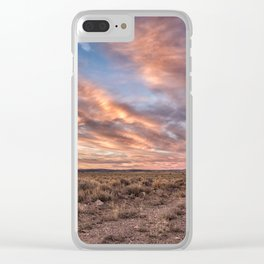 Land of Sagebrush and Wild Horses Clear iPhone Case