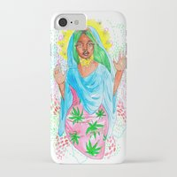 nicki iPhone & iPod Cases featuring Virgin Mary (Jane) by AnnaToman