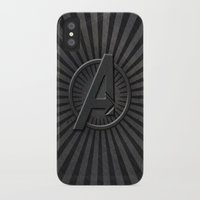avenger iPhone & iPod Cases featuring The Avenger by amesro